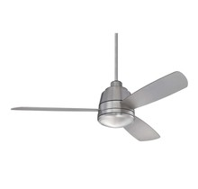 "Savoy House 52-417-3SV-SN - Polaris 52""  Ceiling Fan"