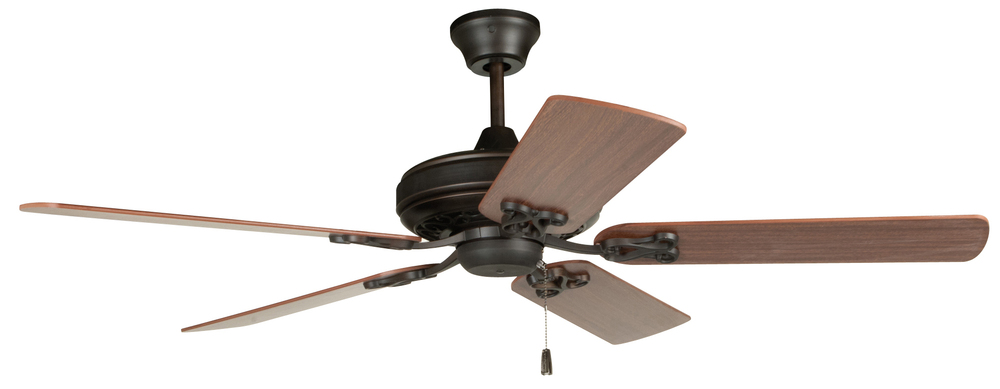 "Majestic 52"" Ceiling Fan with Blades in Aged Bronze Brushed"