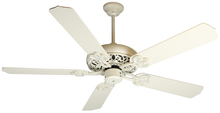 "Craftmade K10615 - Cecilia 52"" Ceiling Fan Kit in Antique White Distressed"