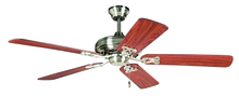 "Craftmade MAJ52BNK5 - Majestic 52"" Ceiling Fan with Blades in Brushed Polished Nickel"