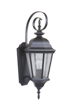 Craftmade Z2914-11 - 1 Light Midnight Outdoor Medium Wall Mount