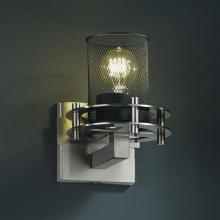 Justice Design Group MSH-8271-10-NCKL - Circa 1-Light Wall Sconce