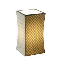 Justice Design Group POR-8870-SAWT - Hourglass Square Accent Lamp