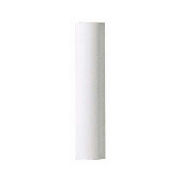 "Shanor/Royalite Lighting Centers in Amherst, New York, United States,  H505, Plastic Candle Covers 13/16"" Inside Dia. - 7/8"" Outside Dia. White Plastic 1-1/2"","