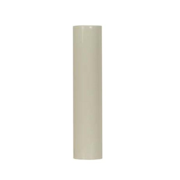 "Shanor/Royalite Lighting Centers in Amherst, New York, United States,  9VAAT, Plastic Candle Covers 13/16"" Inside Dia. - 7/8"" Outside Dia. Cream Plastic 4"","