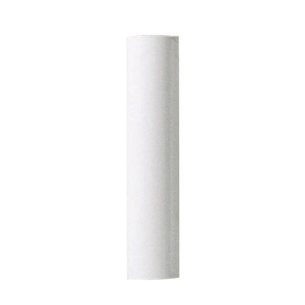 "Shanor/Royalite Lighting Centers in Amherst, New York, United States,  H34F, Plastic Candle Covers 13/16"" Inside Dia. - 7/8"" Outside Dia. White Plastic 6"","