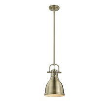 Golden 3604-S AB-AB - Small Pendant with Rod