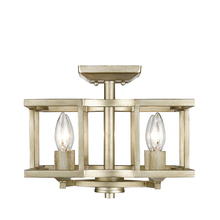 Golden 7151-SF WG - Convertible Semi-Flush