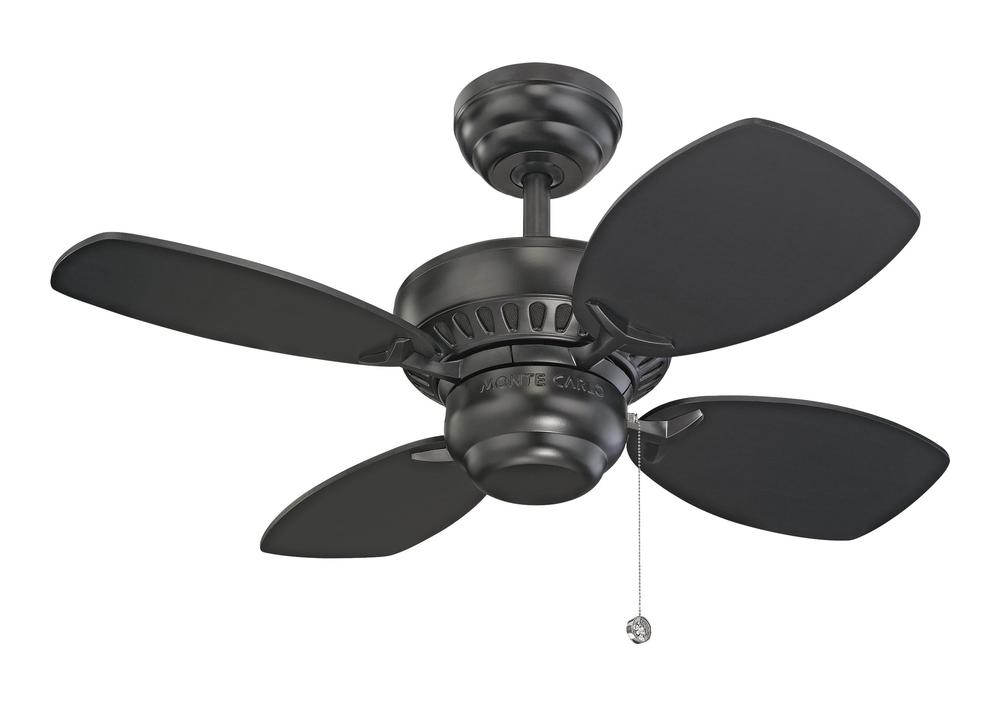 28' Colony II Fan - Black