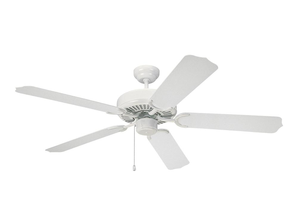 "52""' Weatherford Outdoor Fan - White"