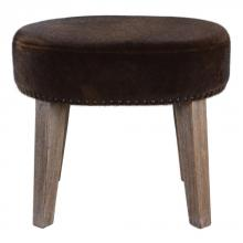 Uttermost 23350 - Uttermost Caballot Chocolate Small Stool