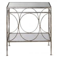 Uttermost 24543 - Uttermost Luano Silver End Table