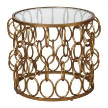 Uttermost 24710 - Uttermost Dipali Gold Accent Table