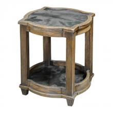 Uttermost 25776 - Uttermost Olani Weather Oak Accent Table